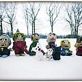 Winter Fimo Family by Natasha Marco