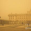 Winter Fog In Madrid by James Brunker