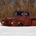 Winter Ford Truck 3 by Thomas Young