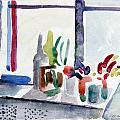 Winter Garden Nyc by Mark Lunde