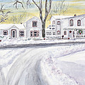 Winter Holidays In Dixboro Mi by Kathryn Duncan