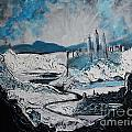 Winter In Ancient Ruins by Stefan Duncan