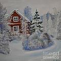 Winter In Finland by Raija Merila