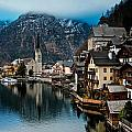 Winter In Hallstatt by Jim Southwell
