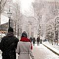 Winter In London by Wojciech Olszewski