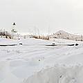Winter In Ludington by Linda Kerkau