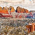 Winter In Sedona Arizona 2 by Bob and Nadine Johnston