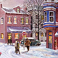 Winter In Soulard by Edward Farber