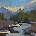 Winter In The Cascade Mountains by Diane McClary
