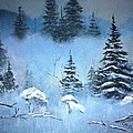 Winter In The Forest by Clifford Knoll
