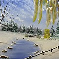 Winter In The Park by Don Bowling