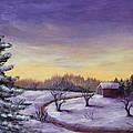 Winter In Vermont by Anastasiya Malakhova