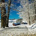 Winter In Vermont by Edward Fielding