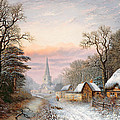 Winter Landscape by Charles Leaver