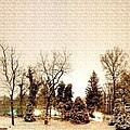 Winter Landscape by Gert J Rheeders
