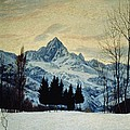 Winter Landscape by Matteo Olivero