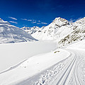 Winter Landscape With Lots Of Snow Austria by Matthias Hauser