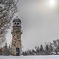 Winter Lighthouse by Jim Lepard