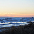 Winter Ludington Shore by Linda Kerkau