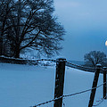 Winter Moon by Bill Wakeley