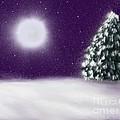 Winter Moon by Roxy Riou