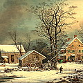 Winter Morning 1863 by Padre Art