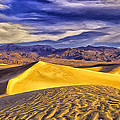 Winter Morning At Death Valley by Dominic Piperata