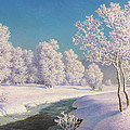Winter Morning In Engadine by Ivan Fedorovich Choultse