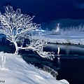 Winter Night by Bruce Nutting