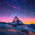 Winter Night High Peak by MotionAge Designs