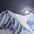 Winter Night In Skye by Richard Dorling