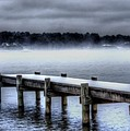 Winter On A Texas Lake by Danny Pickens