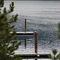 Winter On Lake Coeur D' Alene by Sharon Elliott