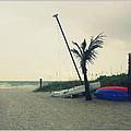 Winter On The Beach by Irina Davis