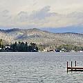 Winter On The Lake by Susan Leggett