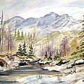 Winter On The River by Dorothy Maier