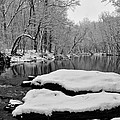 Winter On The Wissahickon Creek by Bill Cannon