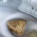 Winter Orangeville Creek by Dean Pennala