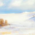 Winter Poplars by Theresa Tahara