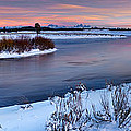 Winter Quiet And Colorful by Leland D Howard