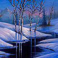 Winter Reflections by Chris Steele