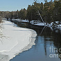 Winter River I by Jessie Parker