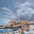 Winter River by Kathryn Dalziel