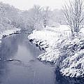 Winter River by Liz Leyden