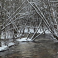 Winter River by Michaela Tetreault