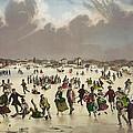 Winter Scene Circa 1859 by Aged Pixel