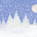 Winter Scene by Debra Congi