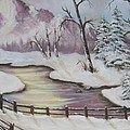 Winter Scene by Joni McPherson