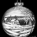 Winter Scene Ornament by Peter Piatt