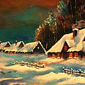 Winter Silence by Ryszard Sleczka